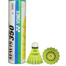 Воланы для бадминтона Yonex Mavis 350 Yellow-Slow (нейлон/пробка)