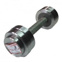 Гантель металлическая разборная АТЛАНТ 3 кг