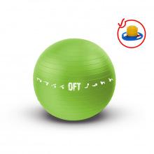 Гимнастический мяч 65 см для коммерческого использования зеленый