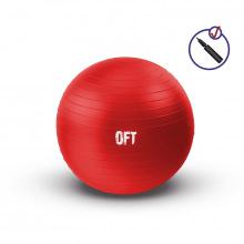 Гимнастический мяч 65 см красный