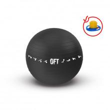 Гимнастический мяч 75 см для коммерческого использования черный