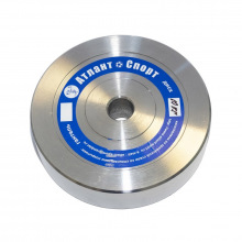 Диск металлический АТЛАНТ вес 10 кг диаметр 26мм