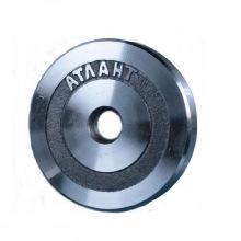 Диск металлический АТЛАНТ вес 2,5 кг диаметр 26мм