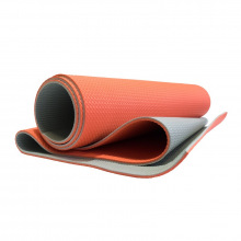 Коврик гимнастический 1900х610х6мм оранж/серый