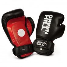 Лапы-перчатки боксерские GREEN HILL SOLAR черно-красно-белые