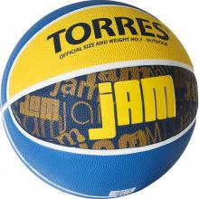 Мяч баскетбольный №7 TORRES Jam люб.