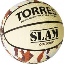 Мяч баскетбольный №5 TORRES Slam люб.