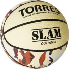 Мяч баскетбольный №7 TORRES Slam люб.