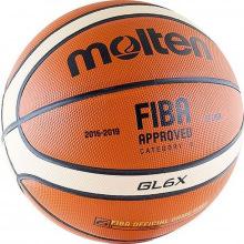 Мяч баскетбольный №6 MOLTEN BGL6X-RFB проф.