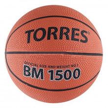Мяч баскетбольный №1 TORRES BM1500 сувенирный