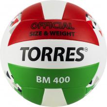 Мяч волейбольный любит. TORRES BM400 р.5