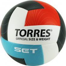 Мяч волейбольный №5 TORRES Set люб.