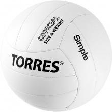 Мяч волейбольный любит. TORRES Simple р.5
