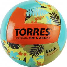 Мяч волейбольный любит. для пляжного волейбола TORRES Hawaii р.5