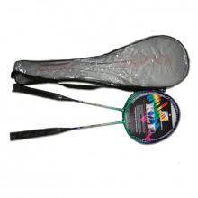 Набор бадминтон 2 ракетки в прозрачном чехле
