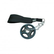 Ремень для подвешивания отягощений к поясу нейлоновый, с логотипом