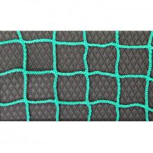 Сетка заградительная, ячейка 100*100, толщина нити 2,2 мм, безузловая, зеленая