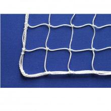 Сетка заградительная, ячейка 100*100, толщина нити 2,2 мм, узловая, белая