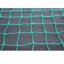 Сетка заградительная, ячейка 100*100, толщина нити 2,2 мм, узловая, зеленая
