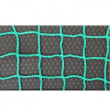 Сетка заградительная, ячейка 100*100, толщина нити 2,6 мм, безузловая, зеленая