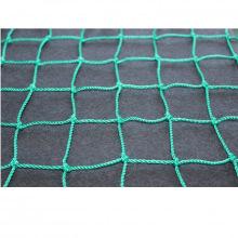 Сетка заградительная, ячейка 100*100, толщина нити 2,6 мм, узловая, зеленая
