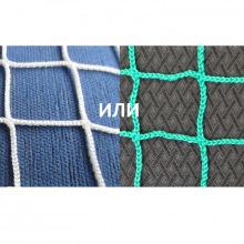 Сетка заградительная, ячейка 100*100, толщина нити 3,5 мм, безузловая, белая или зеленая