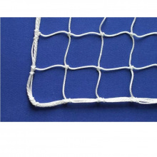 Сетка заградительная, ячейка 100*100, толщина нити 4,5 мм, узловая, белая