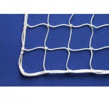 Сетка заградительная, ячейка 20*20, толщина нити 1,6 мм, узловая, белая