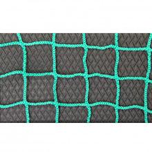 Сетка заградительная, ячейка 40*40, толщина нити 2,2 мм, безузловая, зеленая
