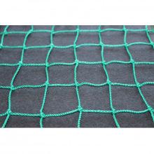 Сетка заградительная, ячейка 40*40, толщина нити 2,2 мм, узловая, зеленая