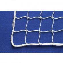 Сетка заградительная, ячейка 40*40, толщина нити 2,6 мм, узловая, белая