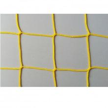 Сетка заградительная, ячейка 40*40, толщина нити 2,8 мм, безузловая, желтая