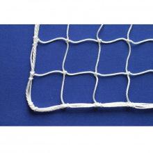 Сетка заградительная, ячейка 70*70, толщина нити 2,2 мм, узловая, белая
