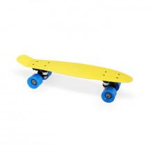 Скейт пластиковый 22х6, желтый