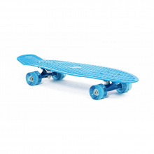 Скейт пластиковый 27х8, голубой