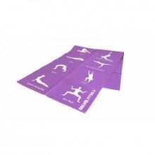 Коврик гимнастический для йоги 4 мм (с упражнениями)