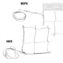 Сетка волейбольная, толщина нити 2,2 мм (обшитая с 1-ой стороны + 3 стороны оверлок), парашютная стр