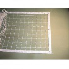 Сетка волейбольная, толщина нити 2,2 мм (обшитая с 4-х сторон), парашютная стропа 50 мм, цвета - бел