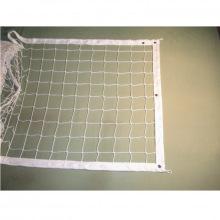 Сетка волейбольная, толщина нити 2,6 мм (обшитая с 4-х сторон), парашютная стропа 50 мм, цвета - бел
