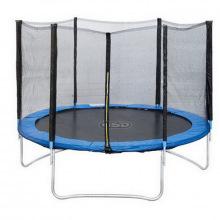 Батут 6 футов (синий) 1,83м с защитной сеткой
