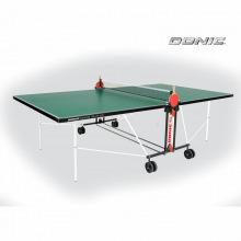 Теннисный стол DONIC INDOOR ROLLER FUN GREEN 19мм для помещений