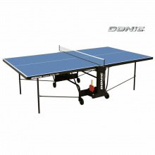 Теннисный стол DONIC INDOOR ROLLER 600 BLUE для помещений