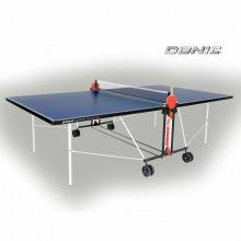 Теннисный стол DONIC OUTDOOR ROLLER FUN BLUE с сеткой 4мм всепогодный
