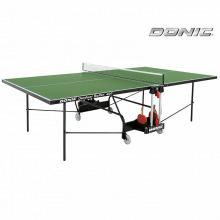 Теннисный стол DONIC OUTDOOR ROLLER 400 GREEN всепогодный