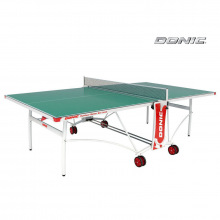 Теннисный стол DONIC OUTDOOR ROLLER DE LUXE зеленый всепогодный