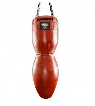 Боксерский мешок 50 кг TOTALBOX loft TBLF 40×120 фигурный нат.кожа