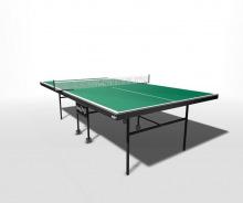 Стол теннисный влагостойкий на роликах с усилением игрового поля WIPS Royal Outdoor