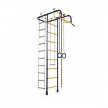 "ДСК ""Пионер - А"". Комплектация: канат, кольца, трапеция, турник, веревочная лестница."