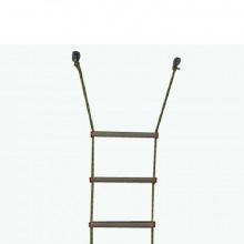Лестница верёвочная 7 ступеней, дерево