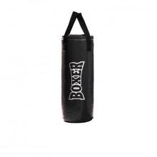 Мешок боксерский вес 20 кг, 75 см, d 30 черн., синий